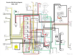 356a wiring diagram wiring schematic diagram vw tech article 1955 57 wiring diagram