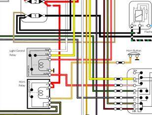 porsche 356 pre a wiring diagram porsche356  porsche356