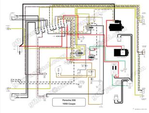 porsche 356 pre wiring diagram car wiring diagrams explained u2022 rh ethermag co  porsche 356 c wiring diagram