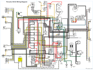 Porsche356  C Wiring Diagram on hvac diagrams, electronic circuit diagrams, battery diagrams, engine diagrams, motor diagrams, sincgars radio configurations diagrams, transformer diagrams, smart car diagrams, friendship bracelet diagrams, switch diagrams, internet of things diagrams, electrical diagrams, series and parallel circuits diagrams, pinout diagrams, honda motorcycle repair diagrams, lighting diagrams, led circuit diagrams, gmc fuse box diagrams, troubleshooting diagrams,
