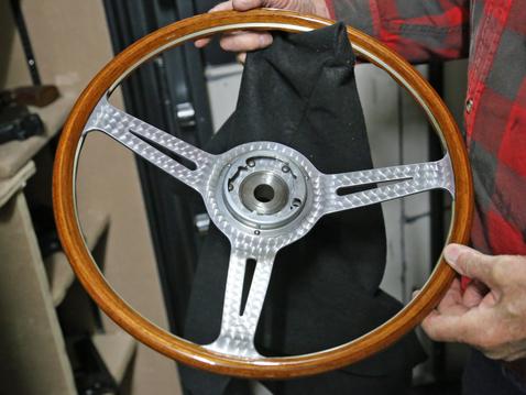Les leston orig wood wheel