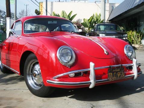 Porsche front right