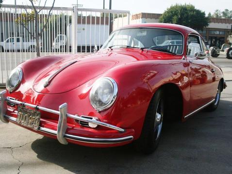 Porsche front left