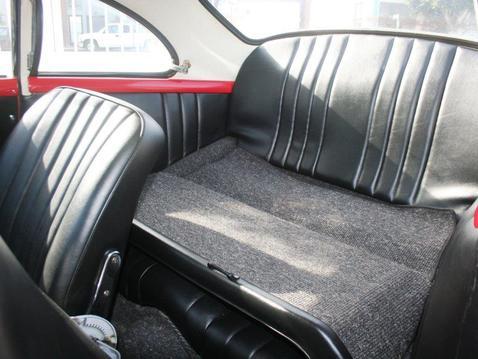 Porsche inside back