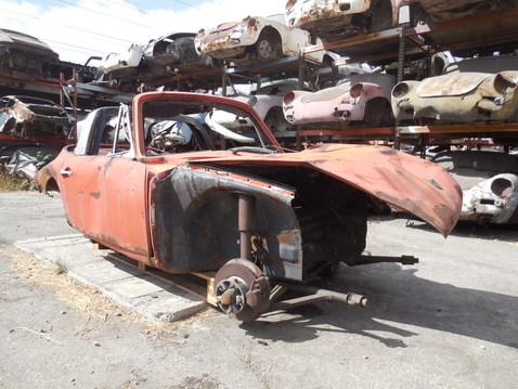 1968 p911 l targa dealer  307 dismantler  1156a