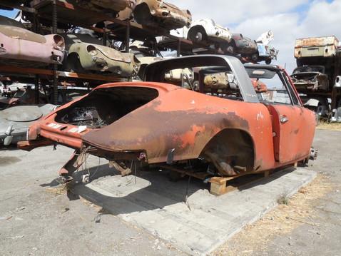 1968 p911 l targa dealer  307 dismantler  1156d