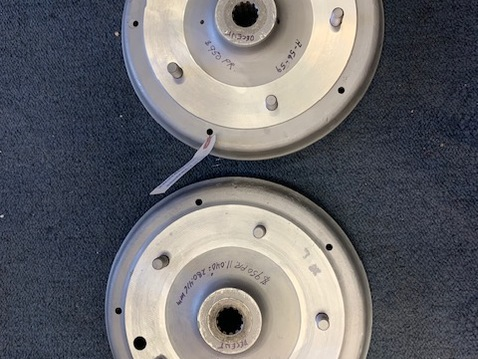 A rear drums front