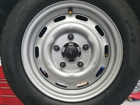 Left ft wheel