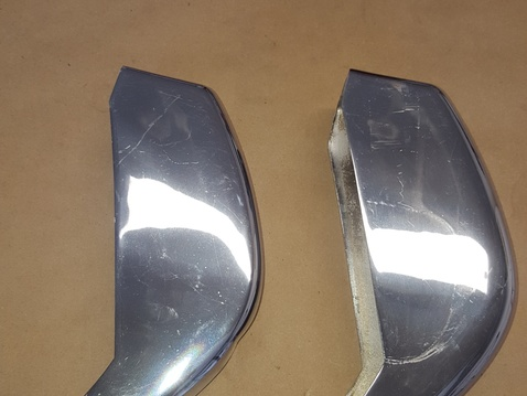 Early 911 0r 912 rear bumer guards side 1