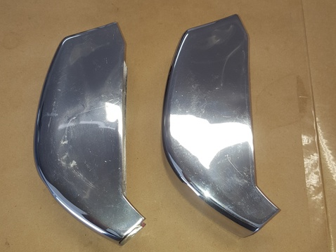Early 911 0r 912 rear bumer guards side 2