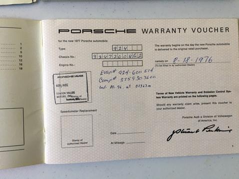 924 drivers manual maintenance warranty 03