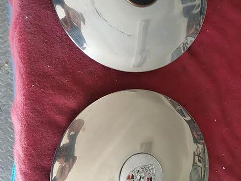 Hub caps disk brakes