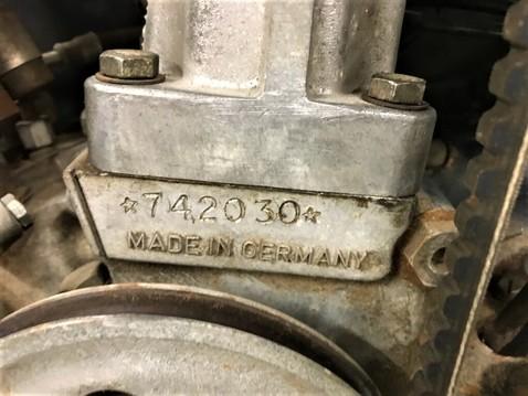 1965 912 engine serial number