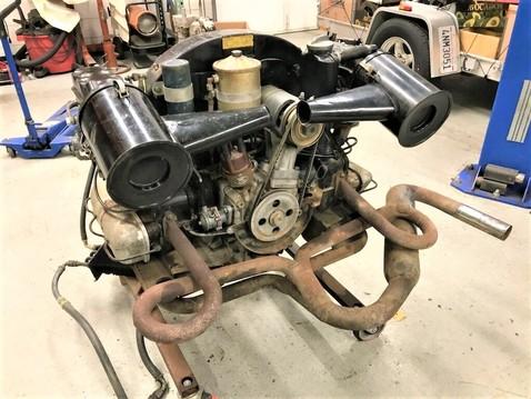 1965 912 engine %28bird's eye view%29