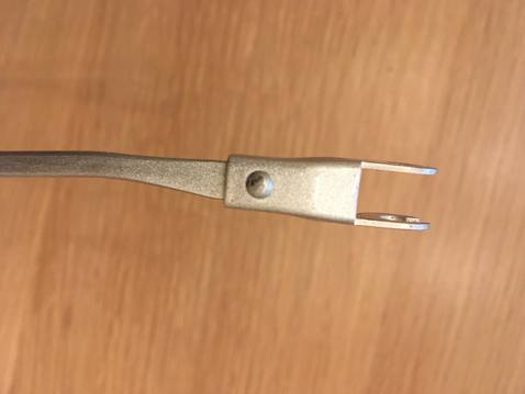 Wiper arm   end