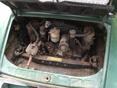 1968 912 swt   engine w orig ca smog