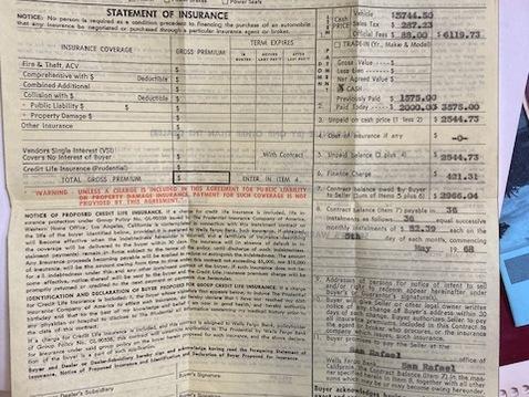 1968 912 swt   orig bill of sale 3 68