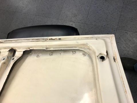 Rear deck lid 8